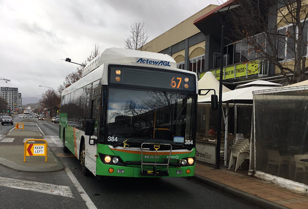 Public Transport for New Gungahlin Suburbs