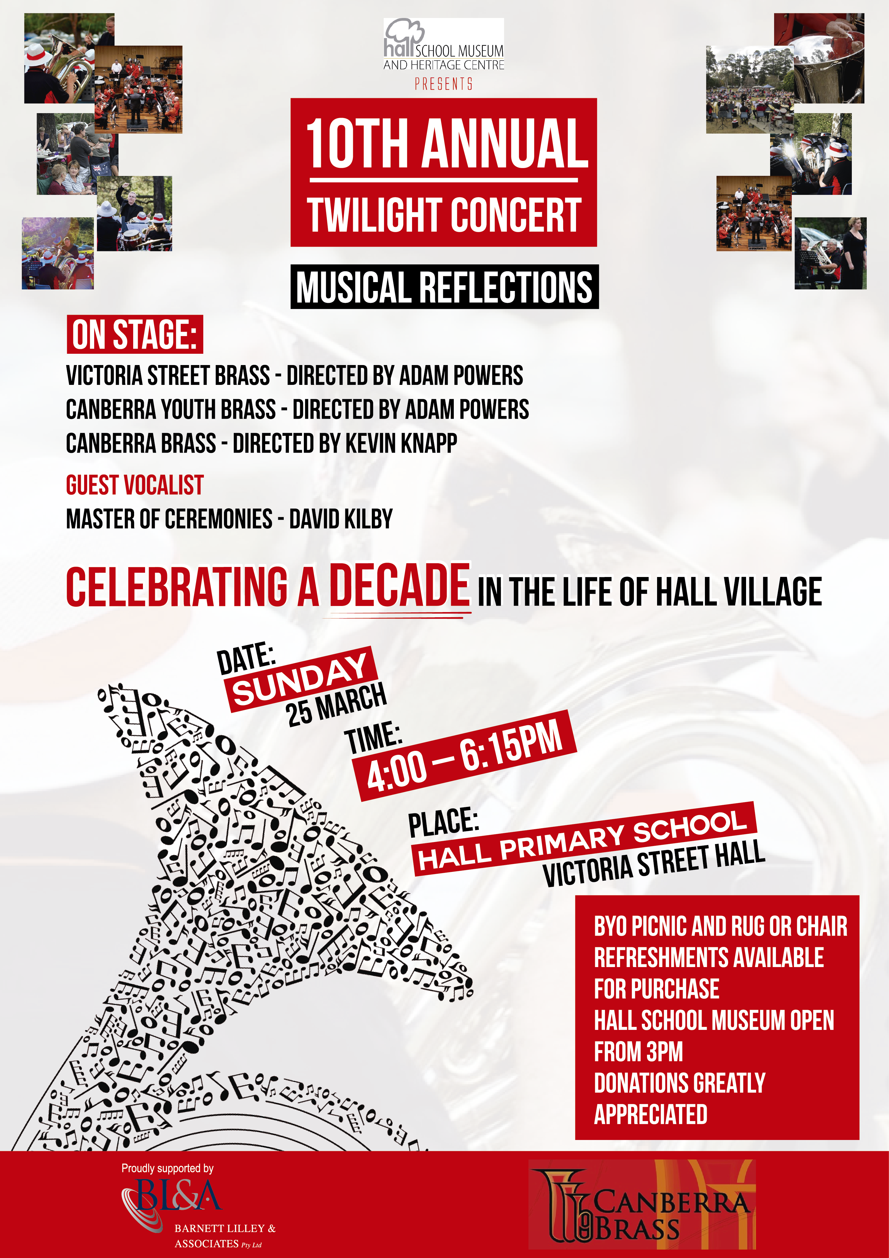 Hall School Museum and Heritage Centre Twilight Concert  2018