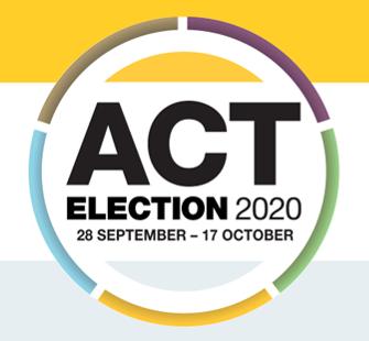 GCC ACT Election Forum 9 September