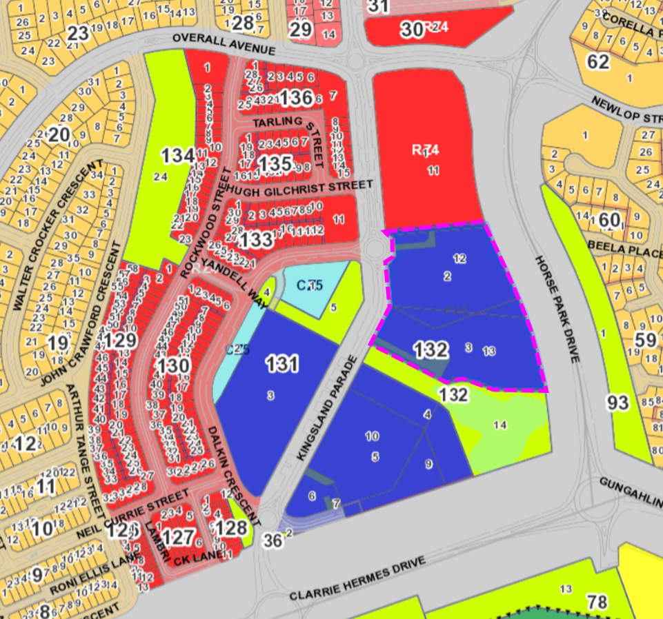 Gungahlin Land Releases 2020-21