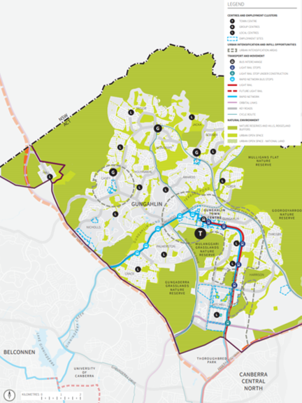 District Planning for Gungahlin Goes Online (ACT Planning System Reform)